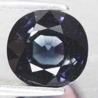 gemstone: กรีนทัวมาลีน-Green Tourmaline size: 9.0x8.8x7.3 carat: 3.91Ct.