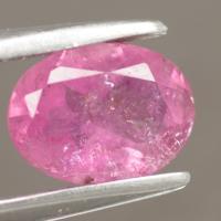 gemstone: พิงค์ทัวมาลีน-Pink Tourmaline size: 8.0x6.0 carat: 1.08Ct.