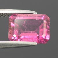 gemstone: พิงค์ทัวมาลีน-Pink Tourmaline size: 9.0x7.0x4.5 carat: 2.19Ct.