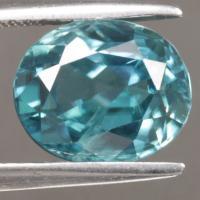 gemstone: เพทาย (Zircon) size: 9.5x7.8x6.1  carat: 4.85Ct.