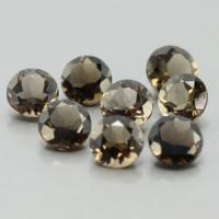 gemstone: สโมคกี้ควอทซ์ - Smoky Quartz size: 5.0x5.0 carat: 3.37Ct.