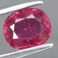 gemstone: ทับทิม-Ruby size: 8.7x7.8x3.5 carat: 2.31Ct.