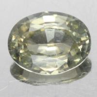 gemstone: เพทาย (Zircon) size: 8.4x6.5x3.7 carat: 2.04Ct.