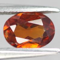 Spessartine Garnet พลอยโกเมน สีส้ม สเปซาไทนน์ สเปซาทีน พลอยแท้ พลอยไม่เผา ราศีมกรา เสริมดวง แก้ชง มีใบเซอร์