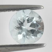 gemstone: อะคัวมารีน-Aquamarine size: 6.0x6.0 carat: 1.16Ct.