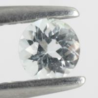 gemstone: อะคัวมารีน-Aquamarine size: 4.0x4.0 carat: 0.22Ct.