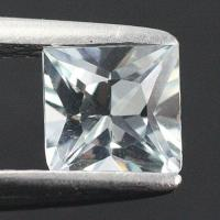 gemstone: อะคัวมารีน-Aquamarine size: 4.8x4.8 carat: 0.53Ct.