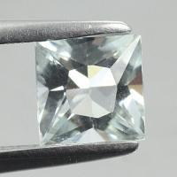 gemstone: อะคัวมารีน-Aquamarine size: 5.9x5.9 carat: 0.86Ct.