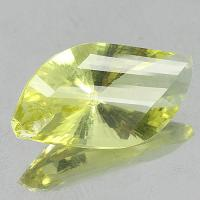gemstone: เลมอนควอทซ์ - Lemon Quartz size: 24.0x12.2x9.0 carat: 11.61Ct.