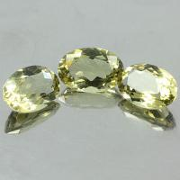 gemstone: เลมอนควอทซ์ - Lemon Quartz size: 12.0x8.0 carat: 9.03Ct.