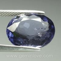 iolite gemstones พลอยไอโอไลท์ พลอยดิบสีน้ำเงินม่วง เสริมดวง เสริมราศี g1-5