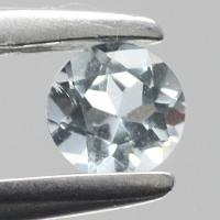 gemstone: อะคัวมารีน-Aquamarine size: 3.5x3.5 carat: 0.27Ct.