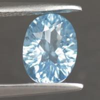 g1-623-4 Blue Topaz พลอยสีฟ้า