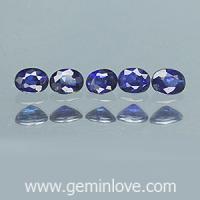 g1-675 Blue sapphire พลอยไพลิน