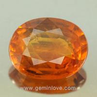 yellow sapphire พลอยบุษราคัม g1-725-2