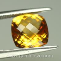 Citrine yellow natural gemstone พลอย ซิทริน อัญมณี แก้ชง เสริมดวง ดูดวง สีเหลือง ทอง พลอยบุษราคัม เสริมราศี